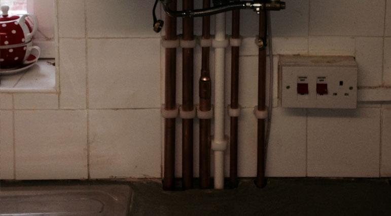 Vokera-Boiler-Pipework
