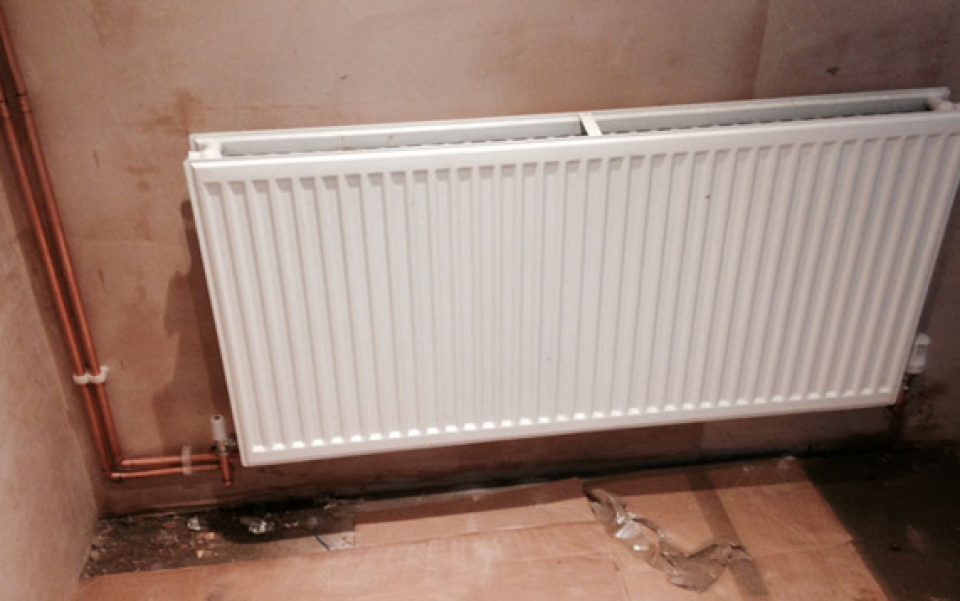 New Radiator Installation