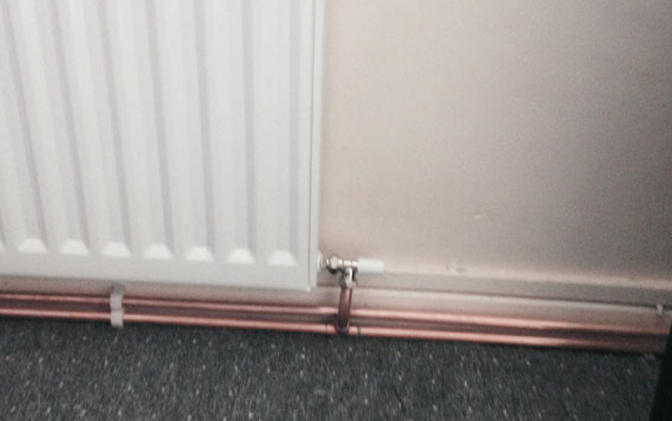 New Radiator in Canary Wharf
